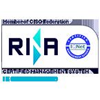 logo rina ISO 27001 know k.